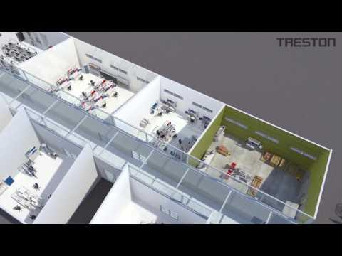 Treston Ergonomische Werktafels | Human Workspace