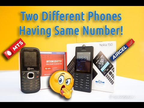Two Different Phones Are Having Same Number!