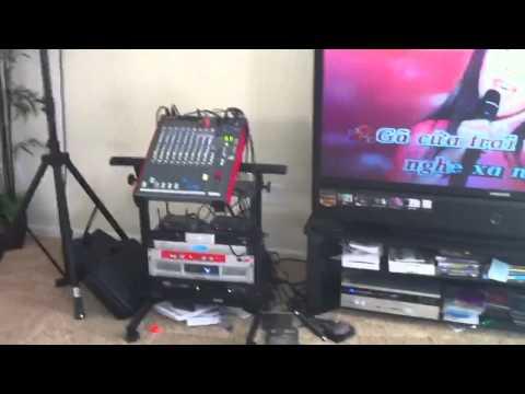 Bose karaoke system