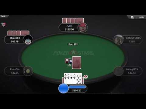 Win Poker Online 350BI in one hour 700 Dollars PLO Omaha