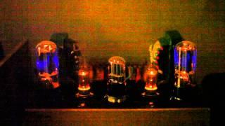 Ламповый усилитель на 6п3с, 6н9с, 6ц4п.