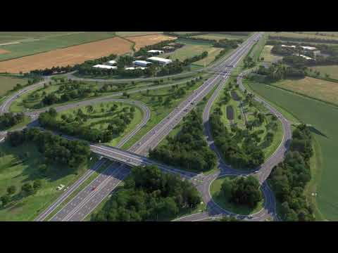 A14 Cambridge to Huntingdon Improvement Scheme Fly-Through