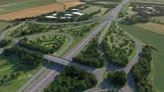 A14 Cambridge to Huntingdon Improvement Scheme Fly-Through