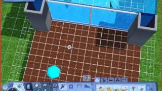 Большой аквариум в The Sims 3