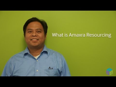What is Amaxra Resourcing