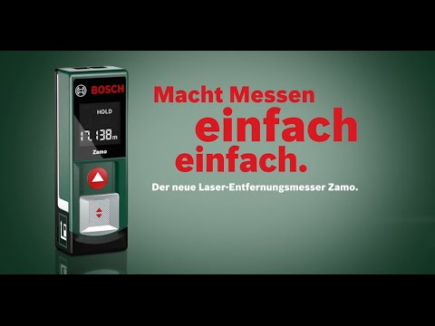 bosch laser entfernungsmesser zamo spot 2 youtube. Black Bedroom Furniture Sets. Home Design Ideas