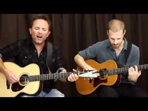 All my fountains Live - Chris Tomlin Acoustic Guitar