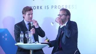 Conferencia WIP: Andrés Aramburo junto a Edmundo Aja