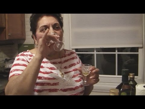Angelo's Mom Tastes Real Extra Virgin Olive Oil