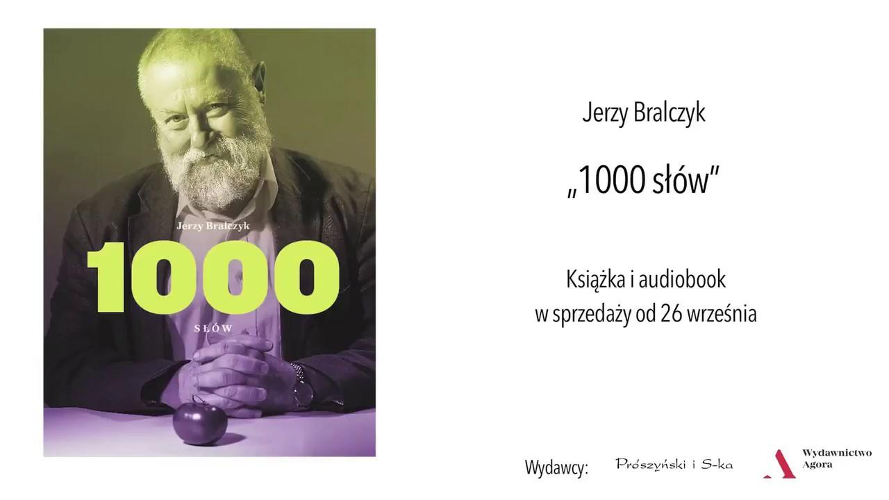"""Jerzy Bralczyk """"1000 słów"""" – zapowiedź nowej książki, cz.2"""