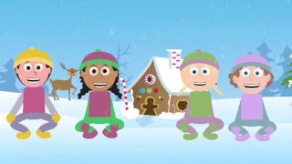 Head, Shoulders, Knees and Toes (speeding up)   Exercise, action and education song for kids