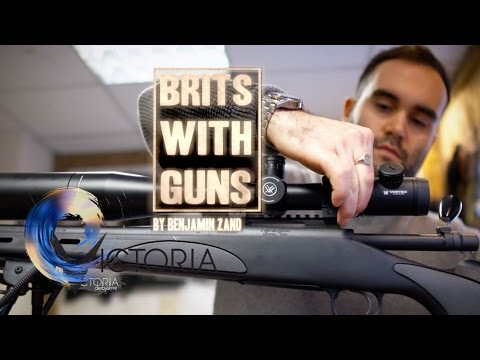 Meeting the Brits with guns - BBC News