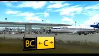 FSX Preview&Departure Captain 727 at ZURICH