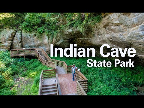 Indian Cave State Park - YouTube on indian cave sp, indian caves state park campground, indian cave state park map,