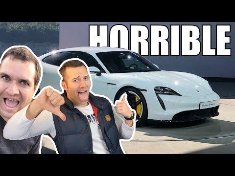 Doug DeMuro Is Wrong: Porsche Taycan Is Horrible! (Change My Mind)