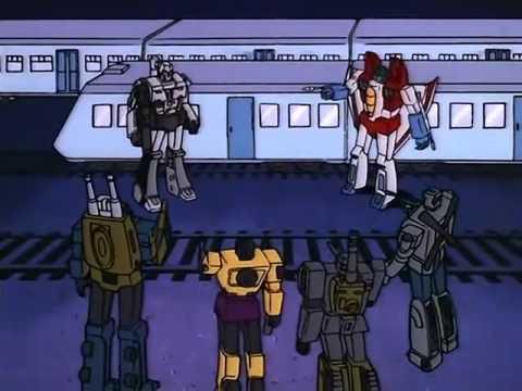 Transformers G1 (Español Latino):La Brigada De Starscream VS Los Decepticons