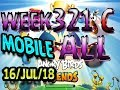 Angry Birds Friends Tournament All Levels Week 321-C MOBILE Highscore POWER-UP walkthrough