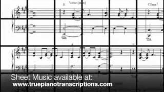 Faithfully  - Journey Piano Accompaniment - Glee version