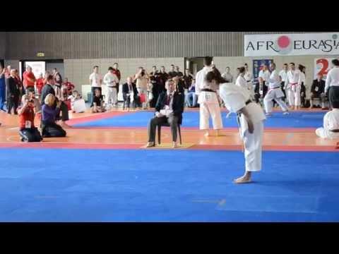 2nd JKA Afro-EurAsia championship - winner female kata