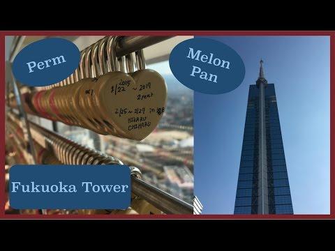 Fukuoka city, Fukuoka Tower, Ohori Park, and Melon Pan in Japan! Vlog Feb 26 - March 7