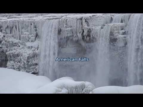 RIVER OF ICE at Niagara Falls (Part 1, Feb.26, 2019)