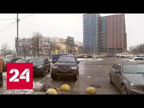 Коммунальная авария парализовала движение на Садовом кольце