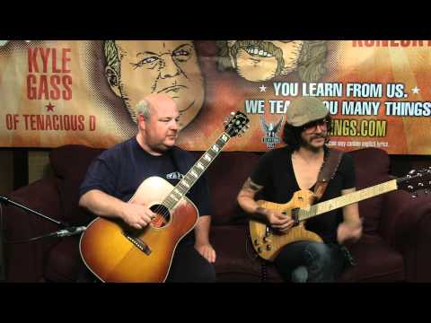 Guitarings  Tenacious D  Kickapoo Part 2