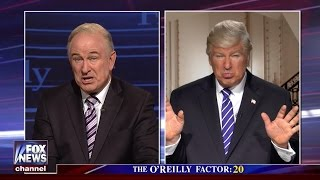 Watch Alec Baldwin impersonate Trump and Bill O