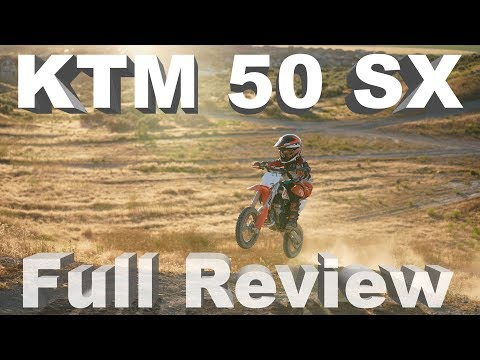 KTM 50 SX Trail Review | With 2 Real World Test Riders - YouTube