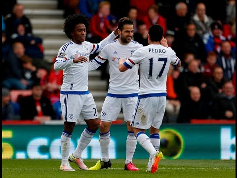 Bournemouth 1-4 Chelsea | Goals: Pedro, Hazard x 2, Willian ; Elphick | Match Review