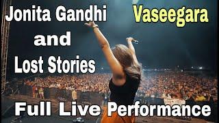JONITA GANDHI & LOST STORIES (VASEEGARA) FULL Live Performance with clear audio
