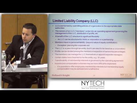 Legal Essentials for Startups 1 - Organizing the Entity