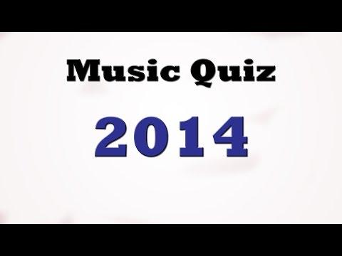 Music Quiz - Music Hits 2014