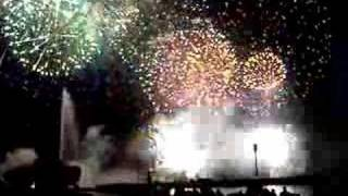 Fêtes de Genève, feu d'artifice Geneva fireworks