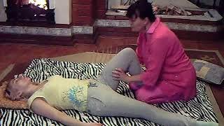 Элемент тайского массажа. Тайский массаж в Уфе