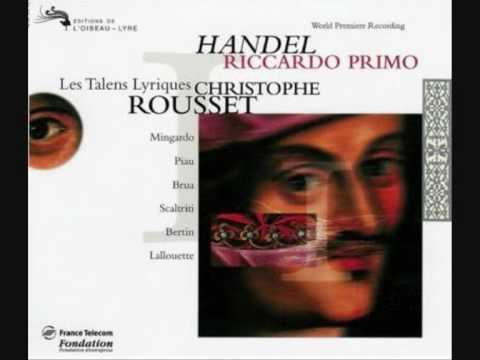 Sandrine Piau - Il volo così fido - Riccardo primo - Handel