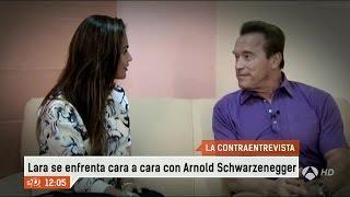 Contraentrevista a Arnold Schwarzenegger en