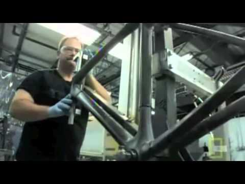 Carbon Fiber Bikes >> Trek carbon bicycles - the manufacturing - YouTube