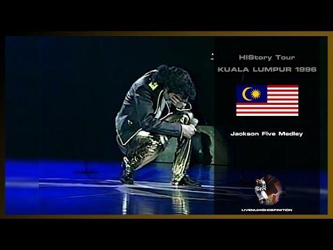 Michael Jackson - Jackson Five Medley - Live Kuala Lumpur 1996 - HD