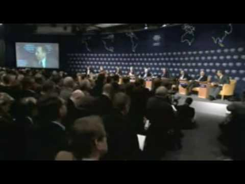 Davos Annual Meeting 2008 - Sovereign Wealth Funds