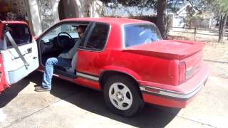 1991 Oldsmobile Cutlass Calais quad 442 W41