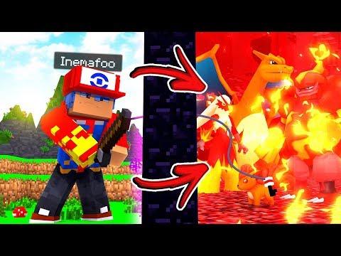 Minecraft: PEGAR POKEMON FÁCIL !! - LIGA POKEMON ❤️ #8 ‹ Ine ›