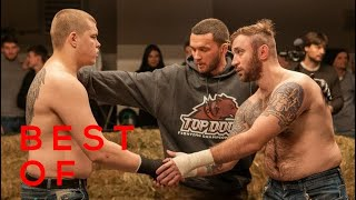 BEST OF TOP DOGS FC I Bare Knuckle Fight (part.2)