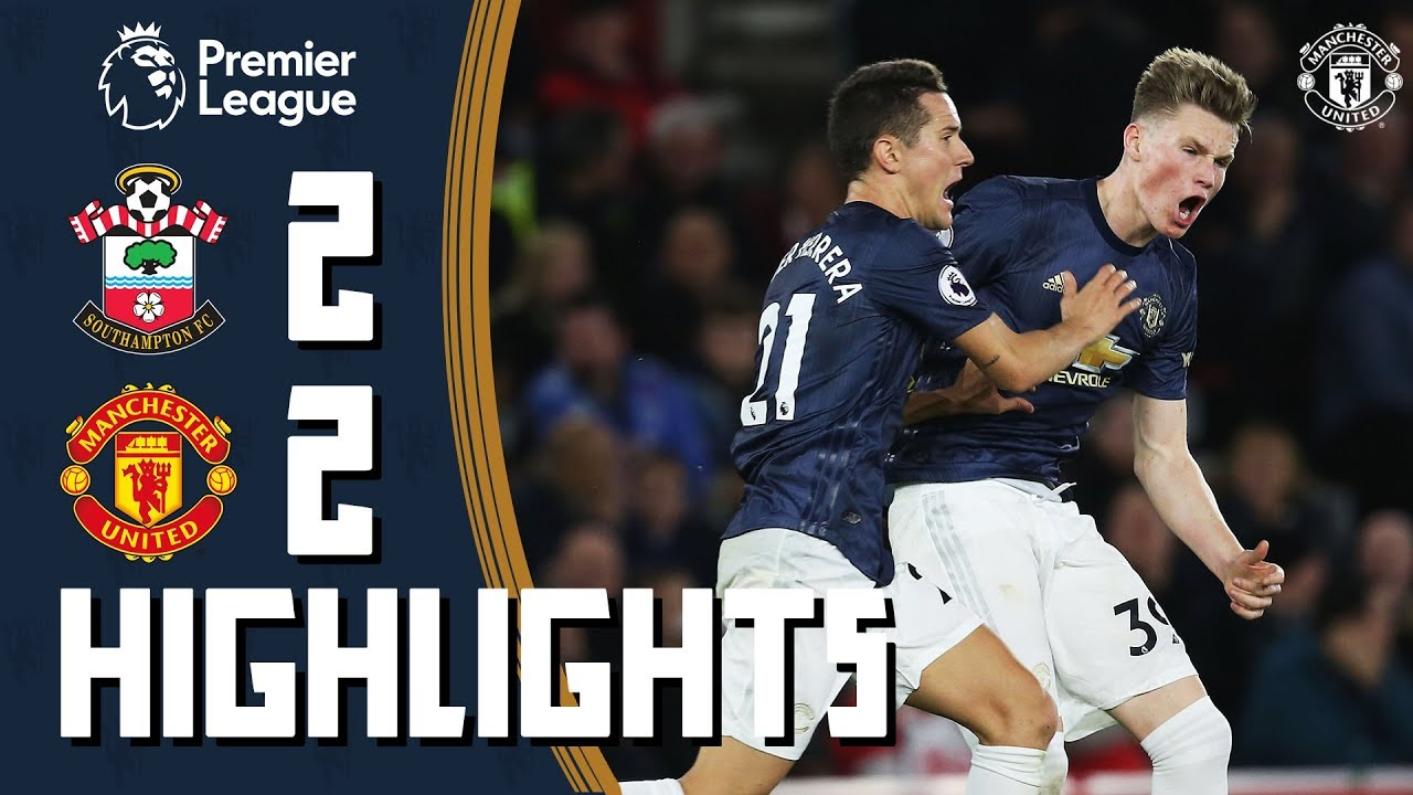 Highlights | Southampton 2-2 Manchester United | Premier League
