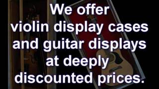 Guitar Display Cases Shadow Boxes