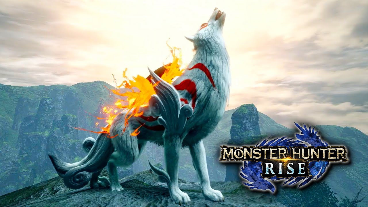 Download NEW OKAMI EVENT QUEST! Amaterasu Palamute Armor in Monster Hunter Rise!