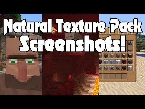 NEW Natural Texture Pack Screenshots! Minecraft Xbox 360 Edition!