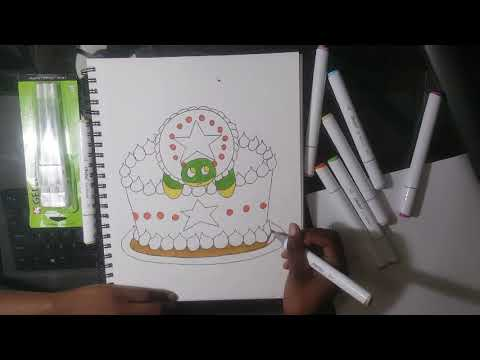 Is this Cheap Copic Alternative Marker Really Worth It? -Ohuhu Marker Review + Speedpaint-