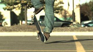 Skateology: Impossible (1000 fps slow motion)