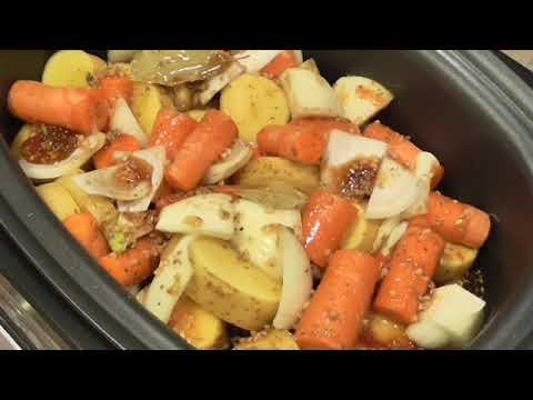 Crockpot Chicken Stew With Garlic And Honey